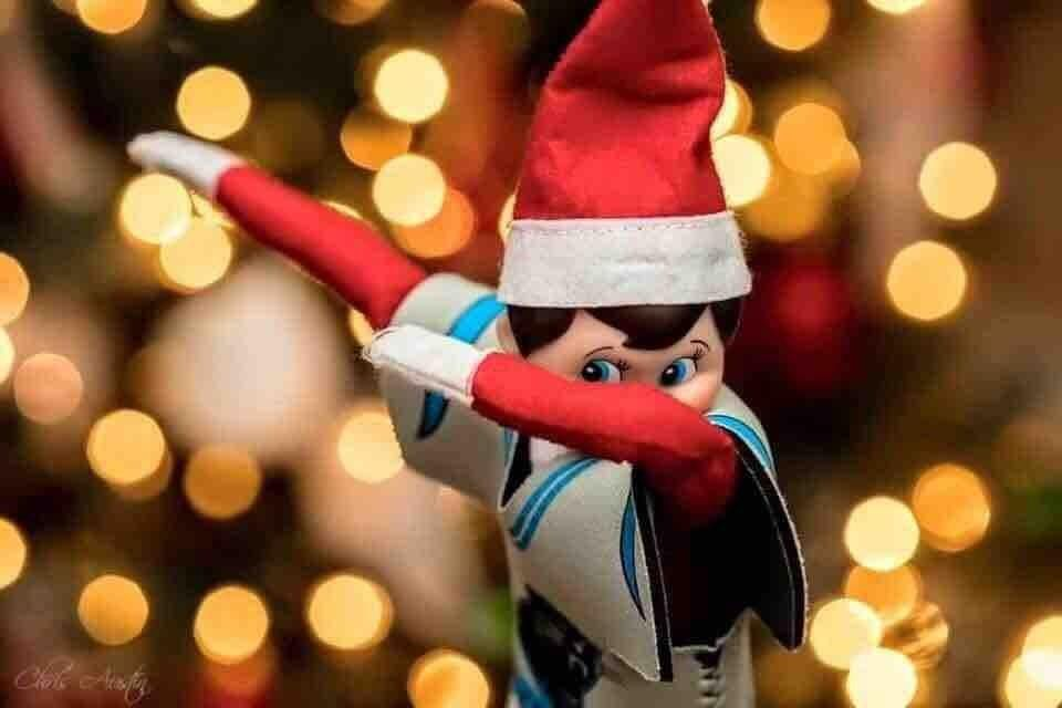 Dabbing Elf On The Shelf Elf Magic Elf On The Shelf