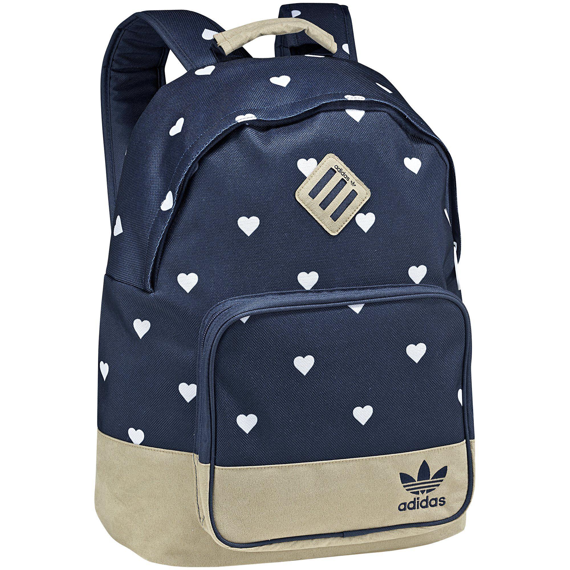 Bolsa Escolar Feminina Adidas : Quero muito mochila allover solid blue tech gold