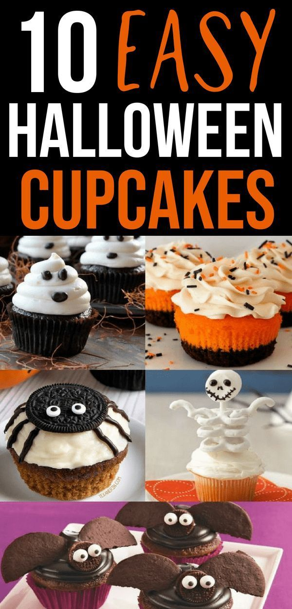 10 Scary Easy Halloween Cupcake Ideas - Savvy Honey