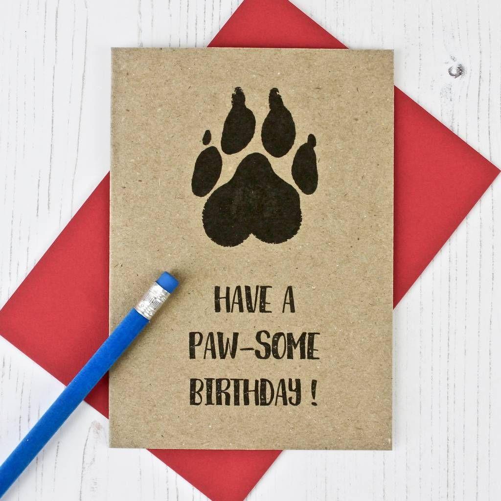 Dog Lovers Birthday Card In 2021 Dog Birthday Card Birthday Cards Diy Dog Lovers Birthday