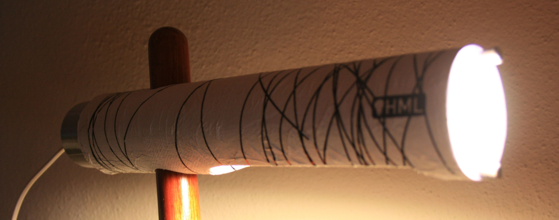 Papertube Lamp