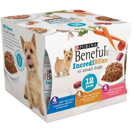 Purina Beneful Incredibites Variety Pack Dog Food 123 Oz Cans