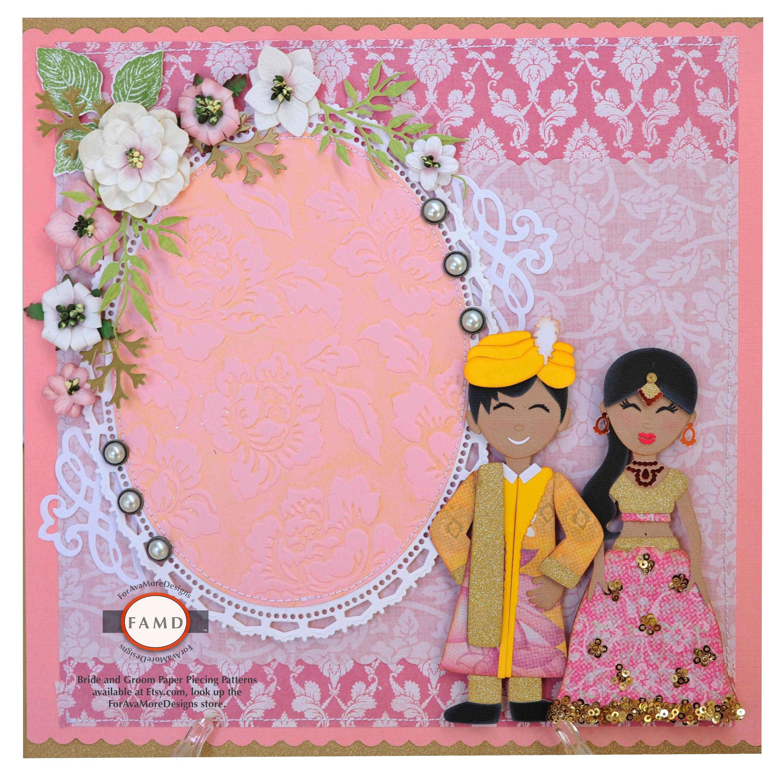 navni and tanuj wedding invitation on behance creative