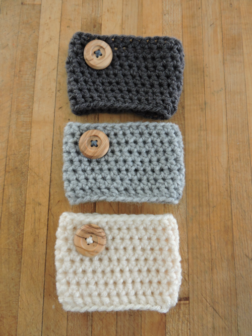 Crochet Coffee Cozy Pattern | Crochet/Knit | Pinterest | Chambritas ...