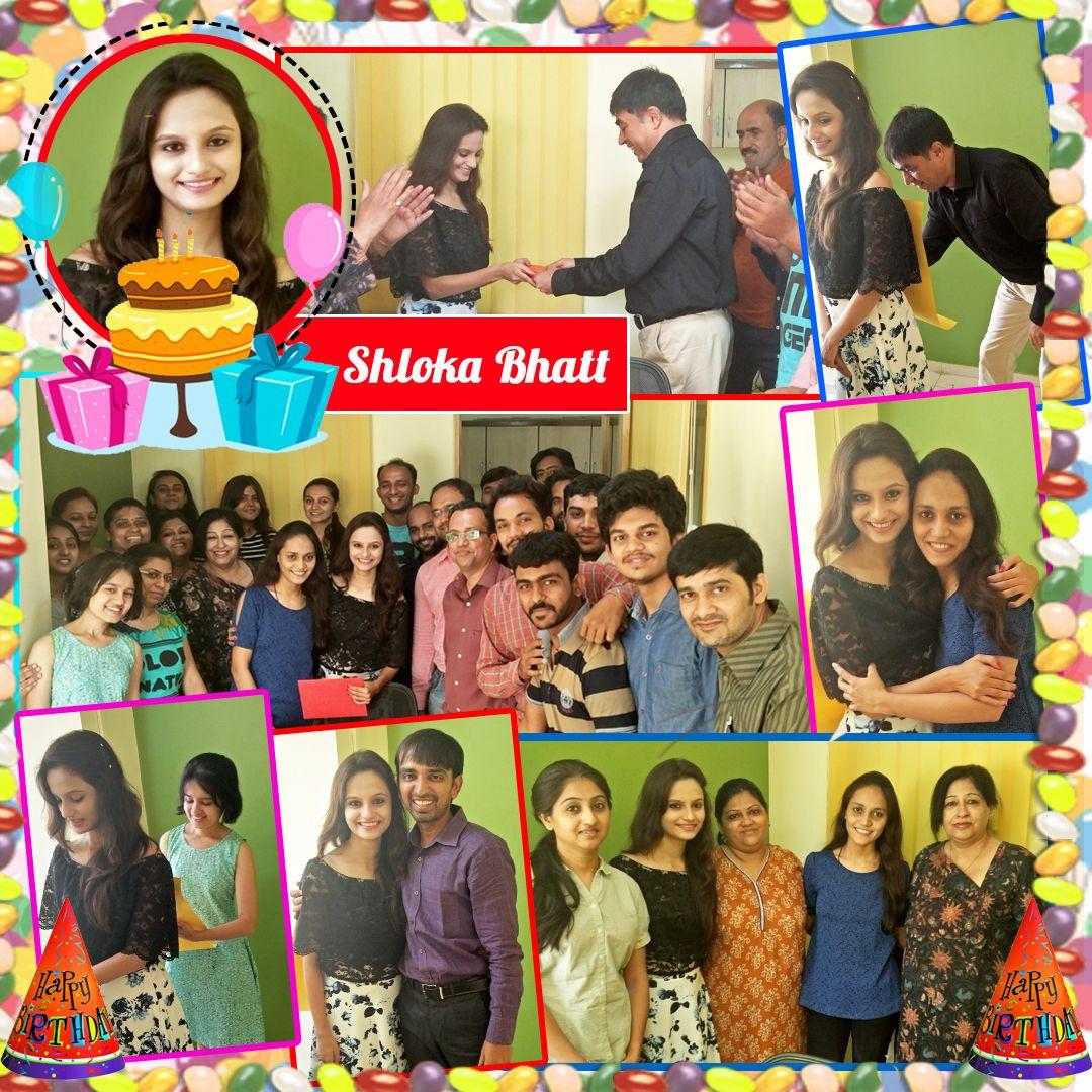 Opal Infotech wishes Happy #Birthday to Shloka Bhatt On this