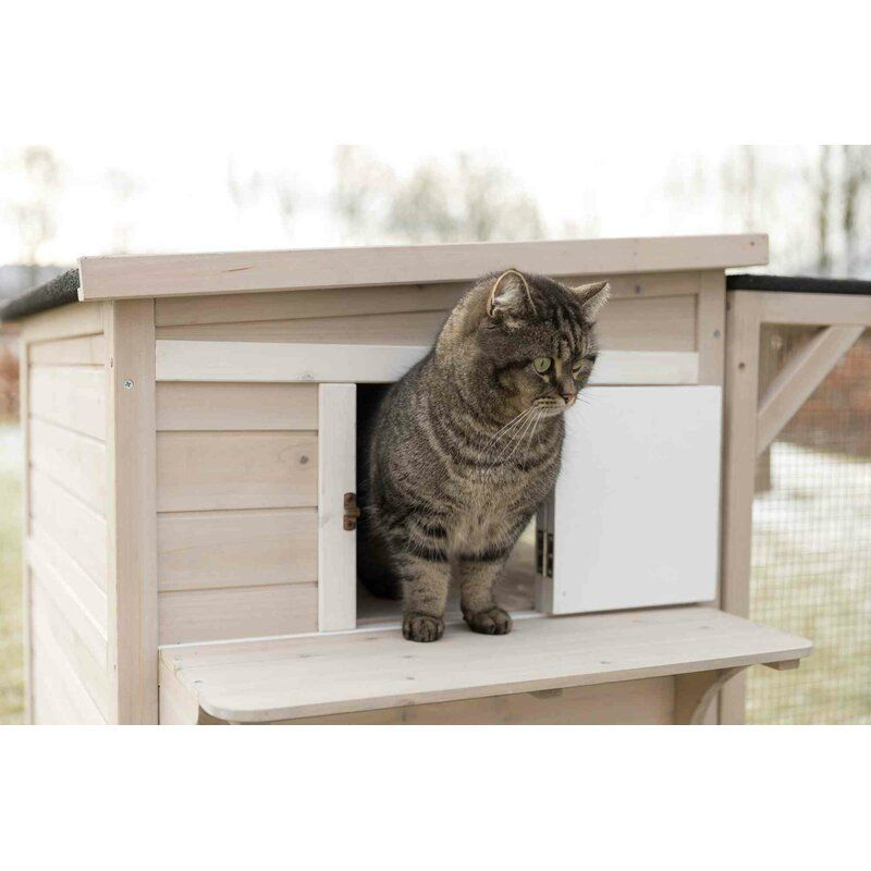 Gatsby Outdoor Cat House In 2020 Outdoor Cat House Outdoor Cats Cat House