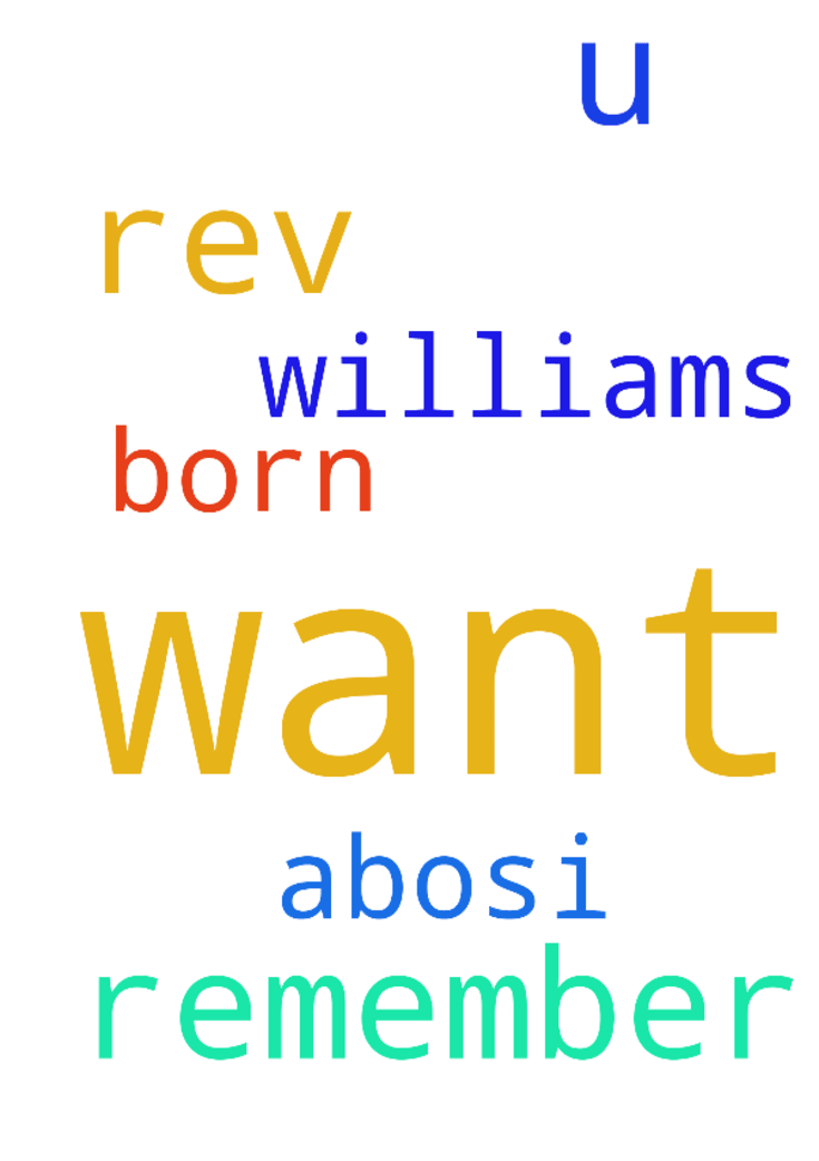 Rev. I want u to remember me in prayers - Rev. I want u to remember me in prayers I want to be born again am Williams Abosi Posted at: https://prayerrequest.com/t/goB #pray #prayer #request #prayerrequest