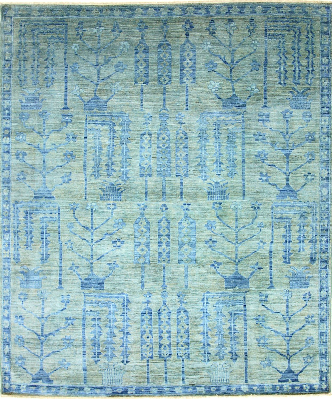 Vendimia rugs overdyed pakistani ovr88 blue rug project loft alfombras pisos textiles - Alfombras contemporaneas ...