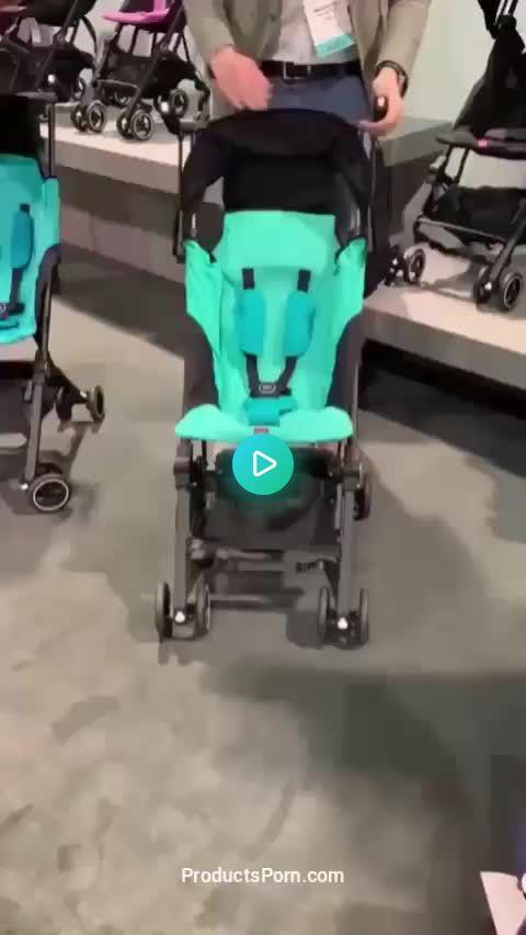 World's Smallest Folding Stroller!