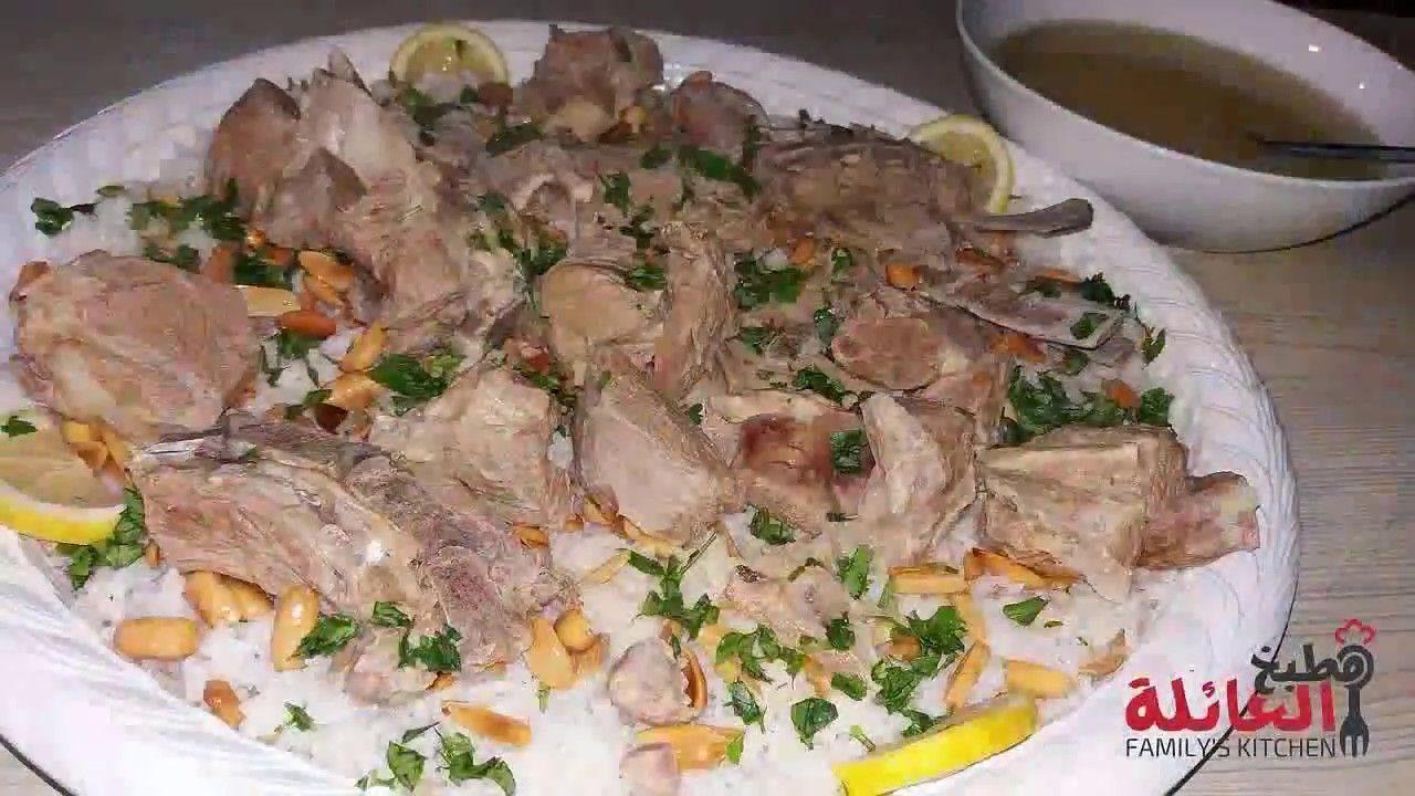 طريقة عمل المنسف الأردني من مطبخ العائلة Youtube Food Dessert Recipes Pork