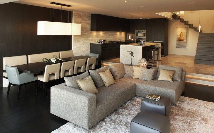 diseño de cocinas modernas en espacios pequeños - Buscar con Google ...