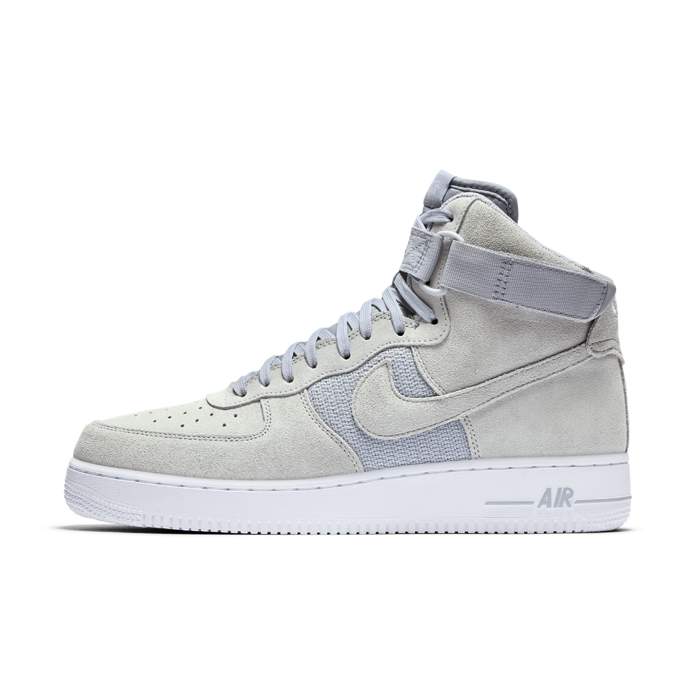 brand new f188c 2a06b ... france nike air force 1 high 07 mens shoe size 10.5 silver 3a38e 860e8