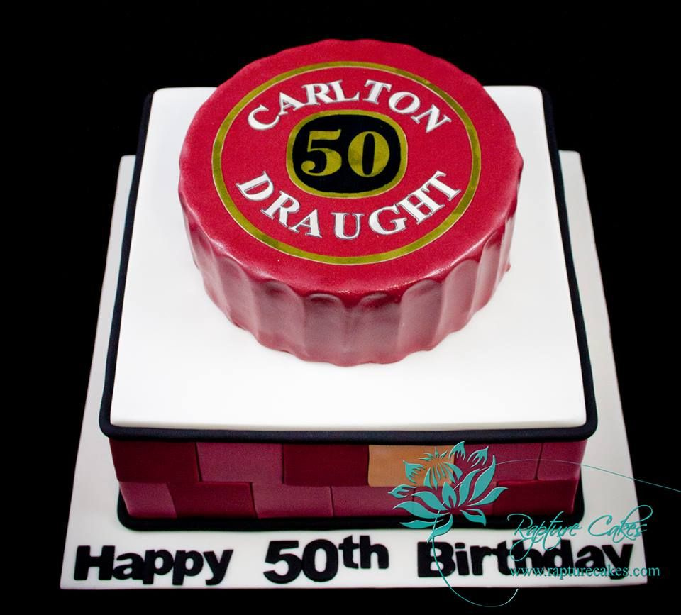 Carlton Draught Cake Adult Birthday Cakes Pinterest Cake
