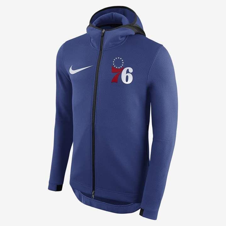 d18ef58cdc0 Philadelphia 76ers Nike Therma Flex Showtime Men's NBA Hoodie ...