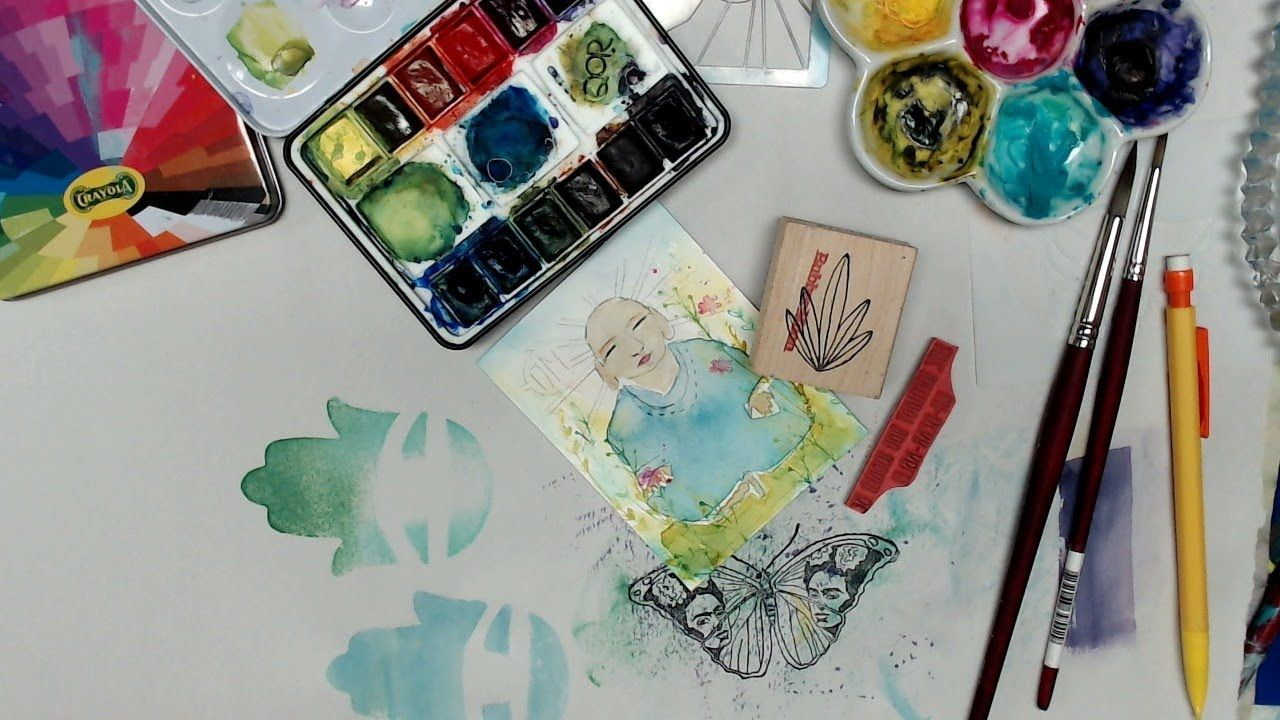 World Watercolor Month Day 29 With Kae Pea Watercolor World