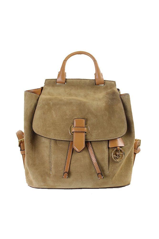 b715823e0e5d Michael Kors New Desert Suede Romy Medium Backpack OSFA $398 | eBay ...