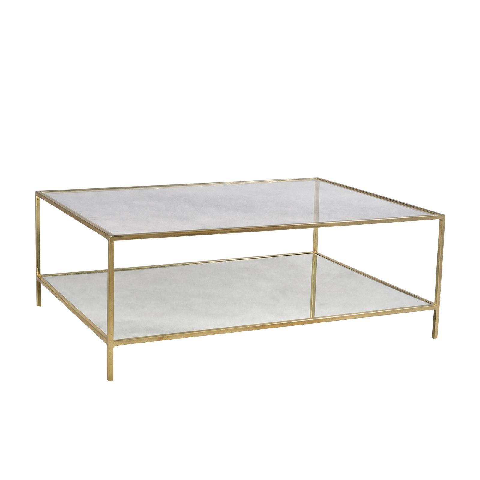 Brass Glass Coffee Table Chairish Mirrored Coffee Tables Coffee Table Glass Coffee Table [ 1600 x 1600 Pixel ]