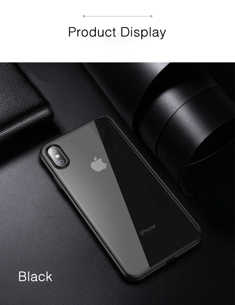 Ultra Thin Transparent Back Cover Bumper Case For Iphone X Xs Max Xr 8 I Phonecases Com Iphone Cases Iphone Clear Cases