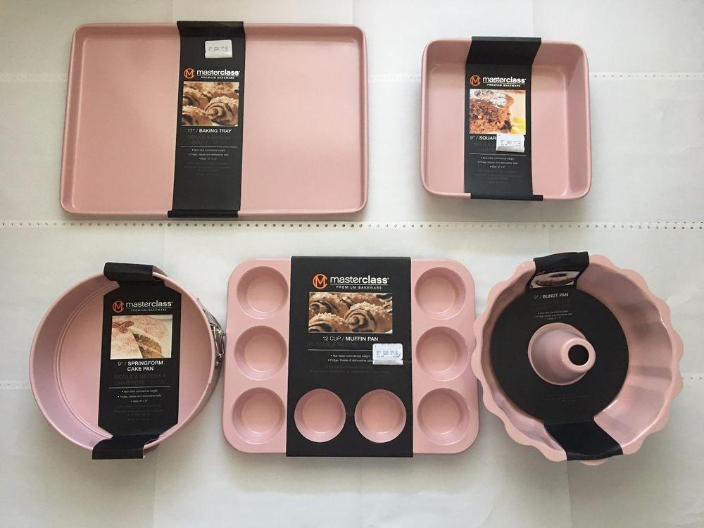 Masterclass soft pink muffin bundt springform square