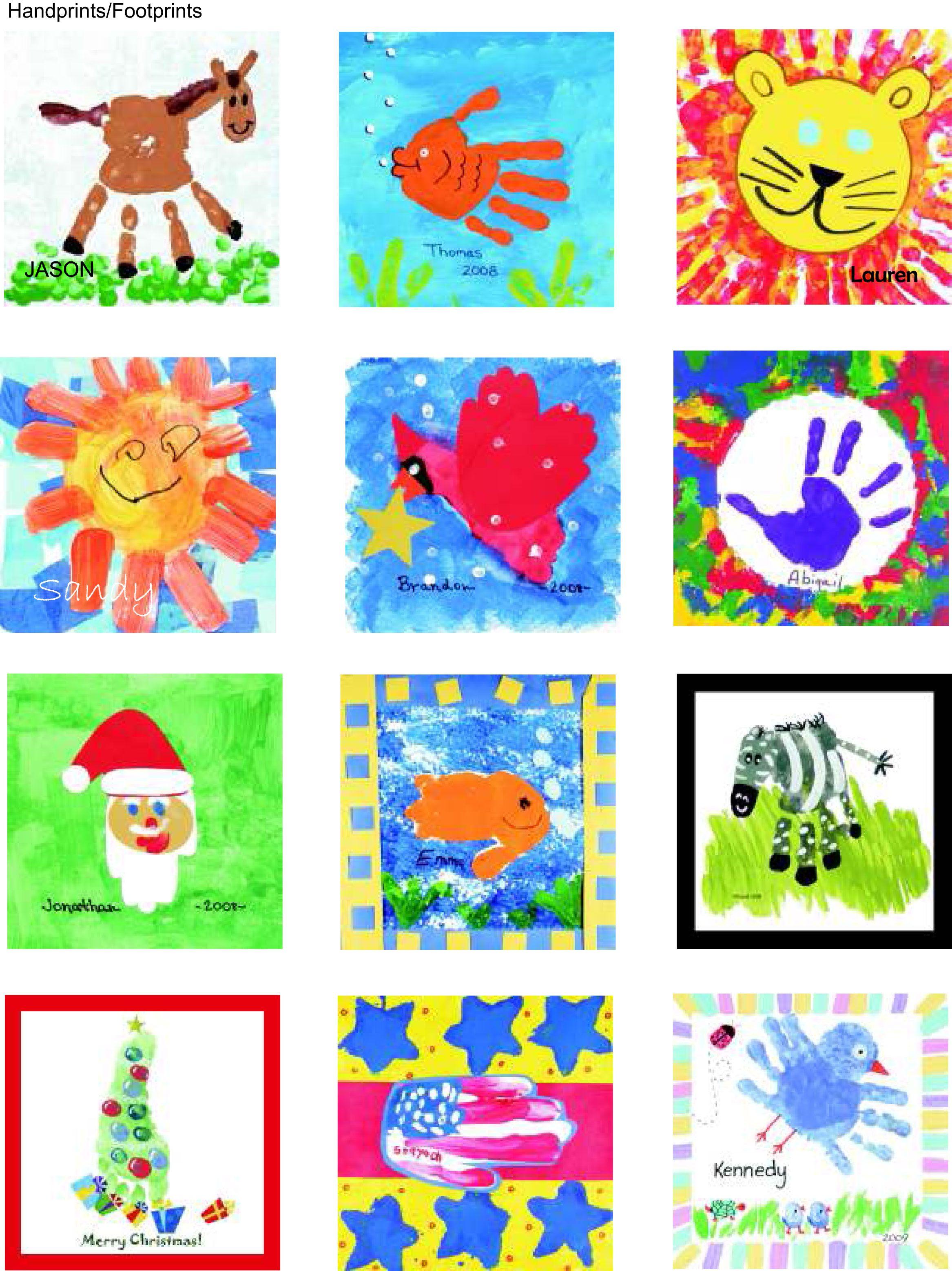 Hands & Feet Art Ideas Pinterest