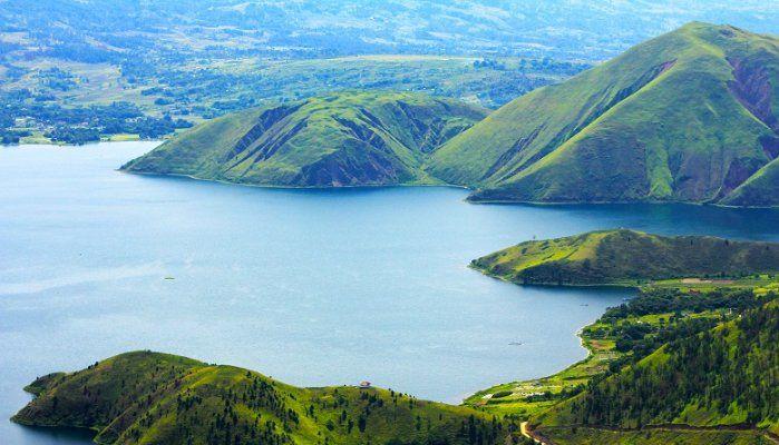 Keindahan Danau Toba | Foto: Pinterest