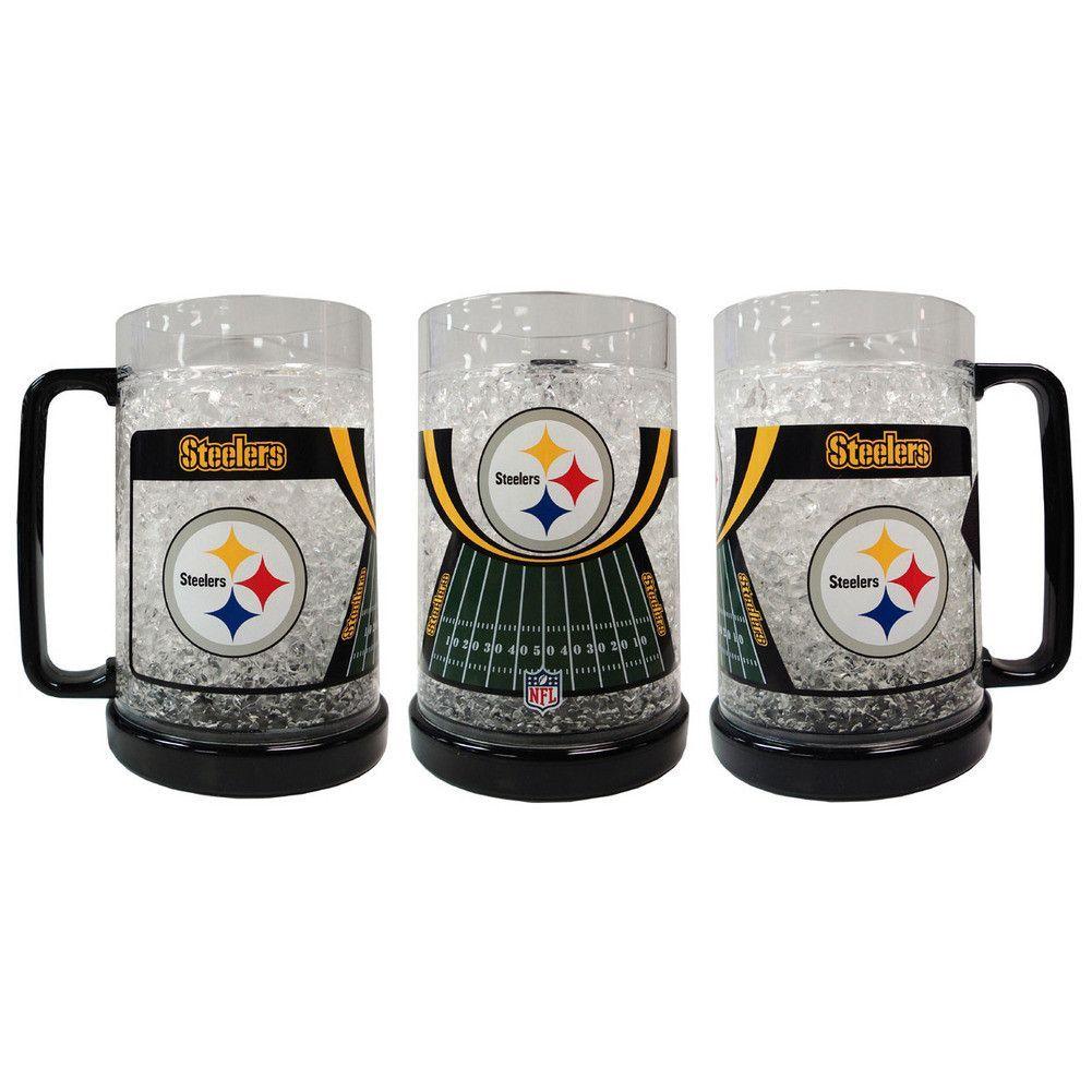 fcbf8fb5 16Oz Crystal Freezer Mug - Pittsburgh Steelers | STEELERS ...