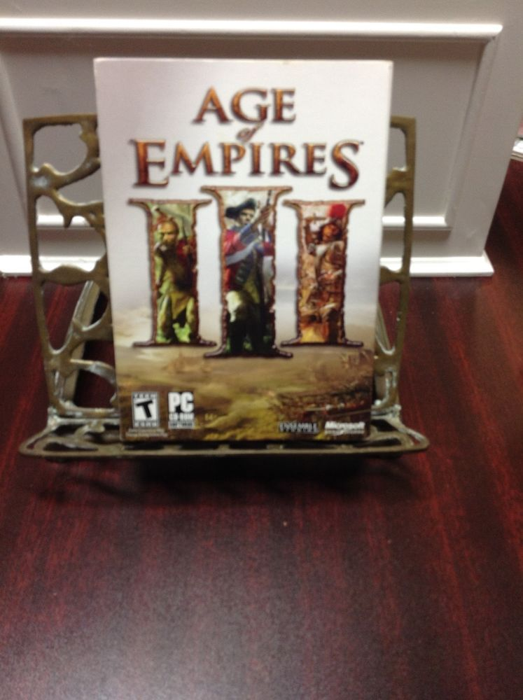 Age Of Empires Iii Action Adventure War Games Pc Region Free