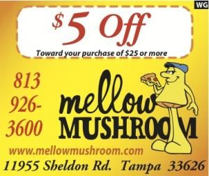 photo relating to Mellow Mushroom Printable Coupons called Mellow Mushroom $5 off $25 coupon. A perfect regional give for a
