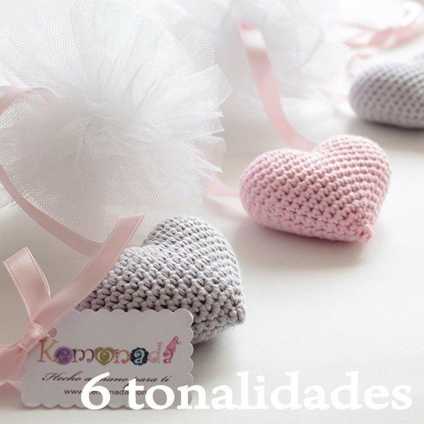 Guirnalda de corazones amigurumi | Deco | Pinterest | Guirnalda de ...