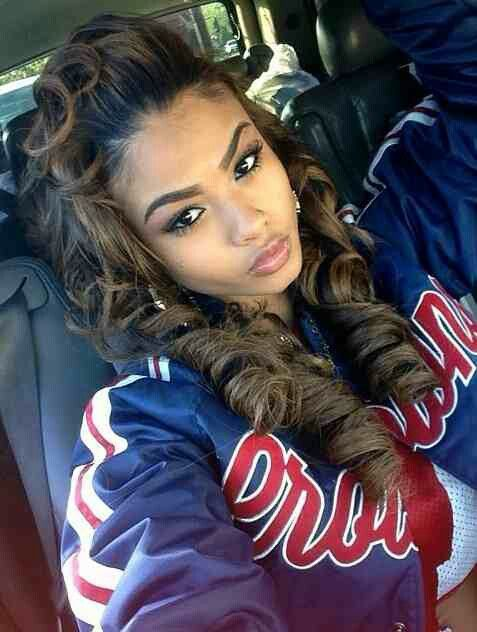 India Westbrook, hairstyle | Curly, wavy, hair styles | Pinterest ...