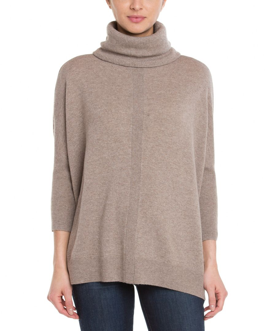 Magaschoni Manor House 3/4 Sleeve Turtleneck Sweater is on Rue. Shop it now.