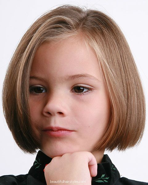 Popular Children Hairstyles Trend In 2011 Picture Bob Haircut For Girls Little Girl Haircuts Girls Short Haircuts