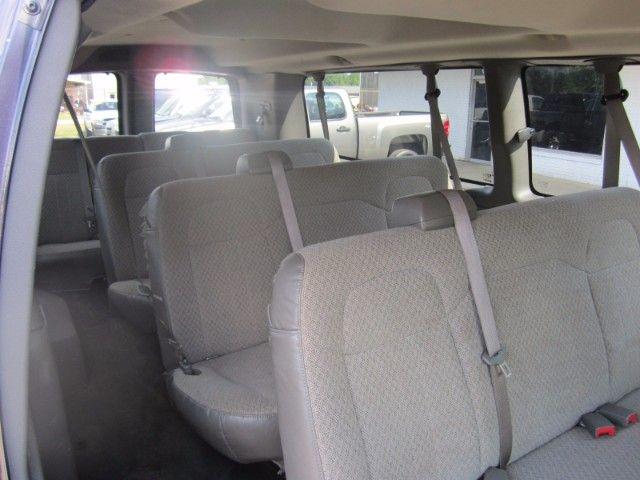 2013 Chevrolet Express Lt 3500 Extended 15 Passenger Van V8 Engine Only 67k Miles Landmark Auto Inc Smithfield Nc 15 Passenger Van Chevrolet Car Seats