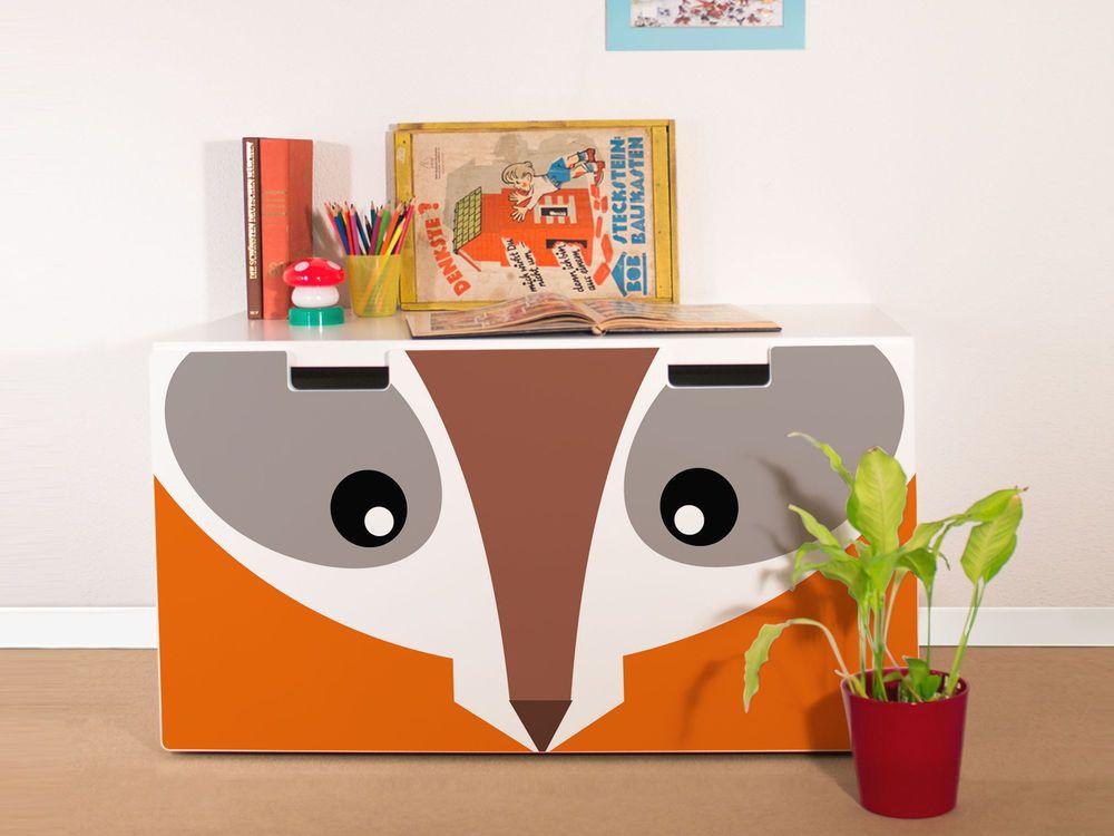 YOURDEA Aufkleber für Kinderzimmer IKEA Stuva Kommode mit