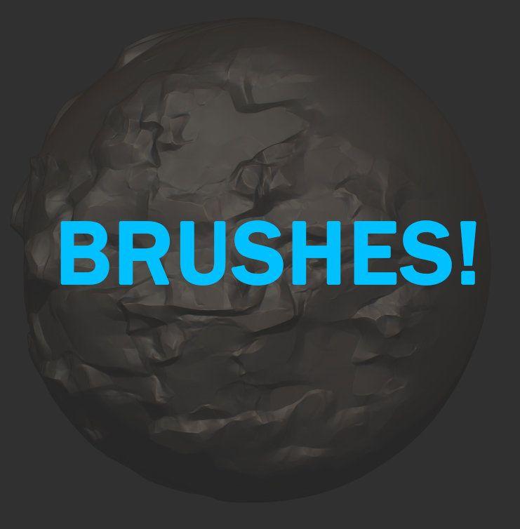free zbrushes, Martin Ocejo on ArtStation at https://www.artstation ...
