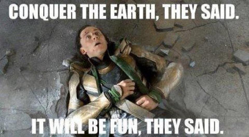 The Avengers.... lol oh Loki