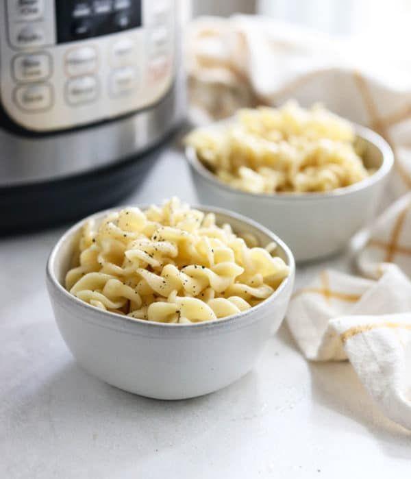 instant pot pasta regular  glutenfree noodles  recipe