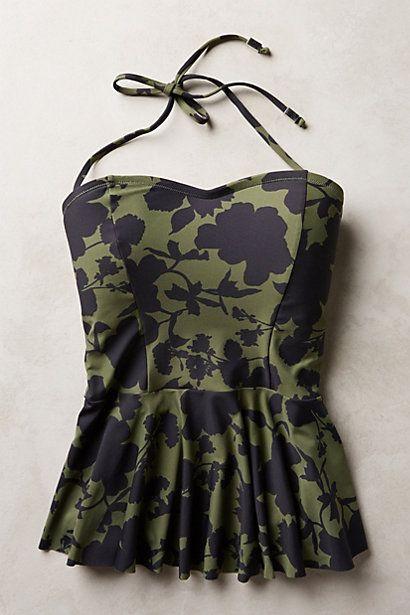 b25f6591125d2 Mix-and-Match Peplum Tankini Top | Clothes | Trajes de baño, Diseños ...