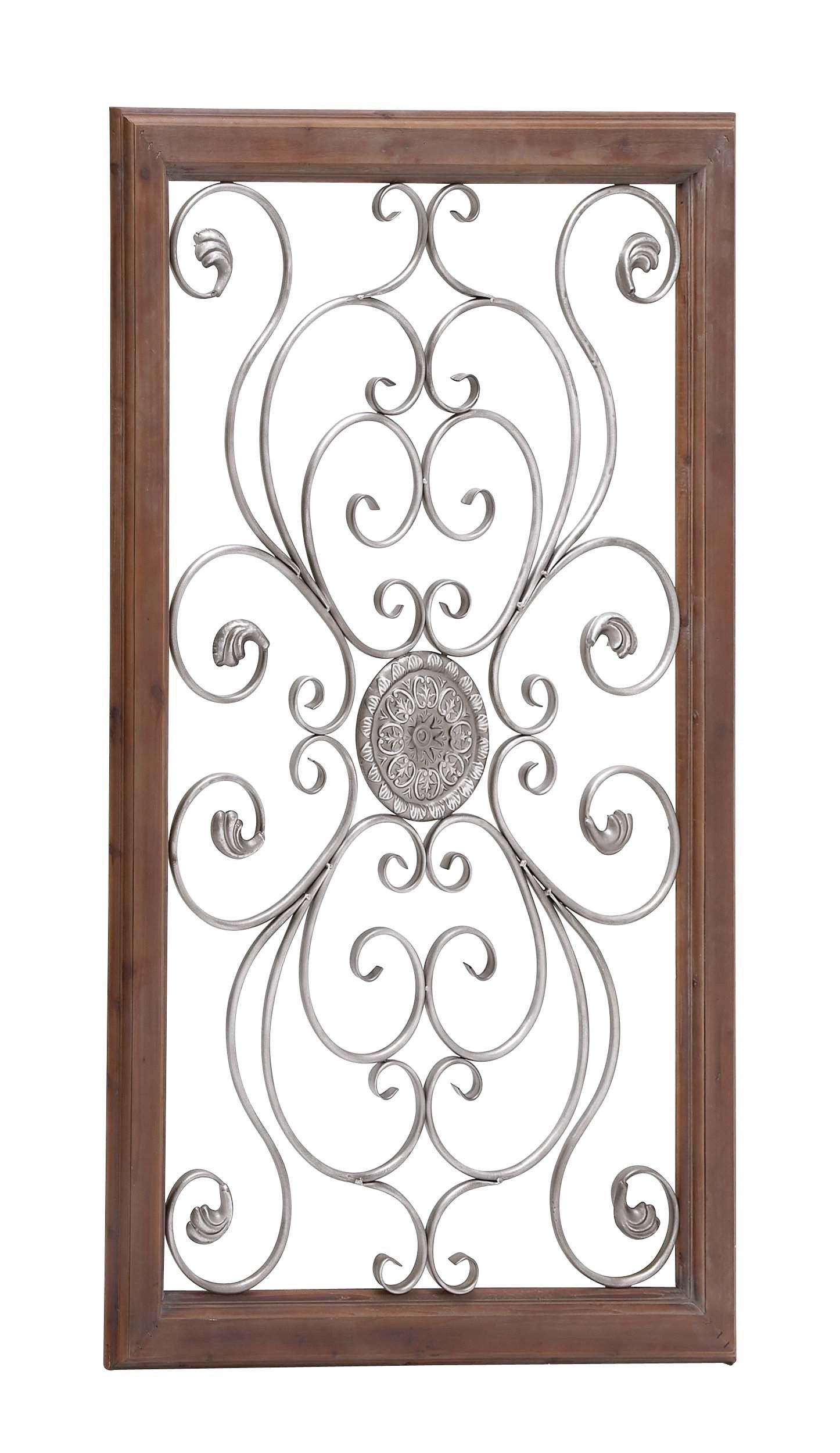 The large metal wood wall plaque products pinterest products