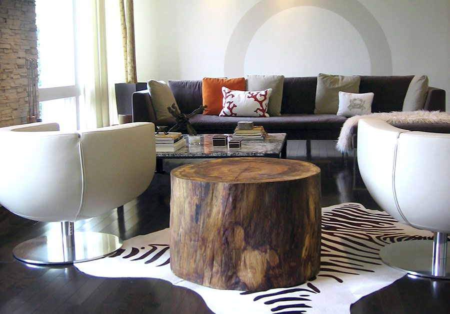 Sycamore Round | Tree Trunk Table | By 2014 MADE Exhibitor David Stine  Woodworking | Architecture U0026 Design | Pinterest | Tree Trunk Table, Trunk  Table And ...