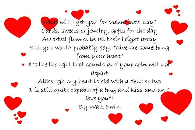 Valentines Day Card Sayings Valentine Wishes Pinterest