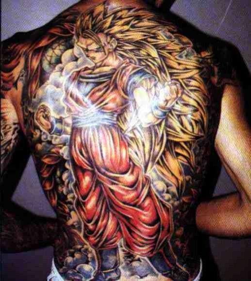 Dbz Super Saying Tattoo Dragon Ball Z Anime Tattoos Incredible
