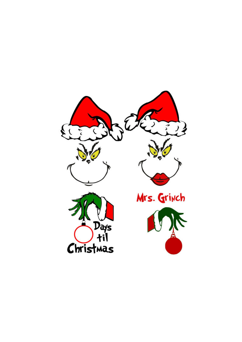 Pin by Michelle Hale on Christmas door SVG Grinch stuff
