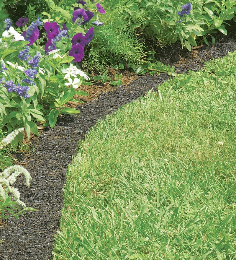 Perma Mulch Border I Plan To Some Of This Edge My Front Flower Bed With Made Recycled Rubber It Gets Great Reviews
