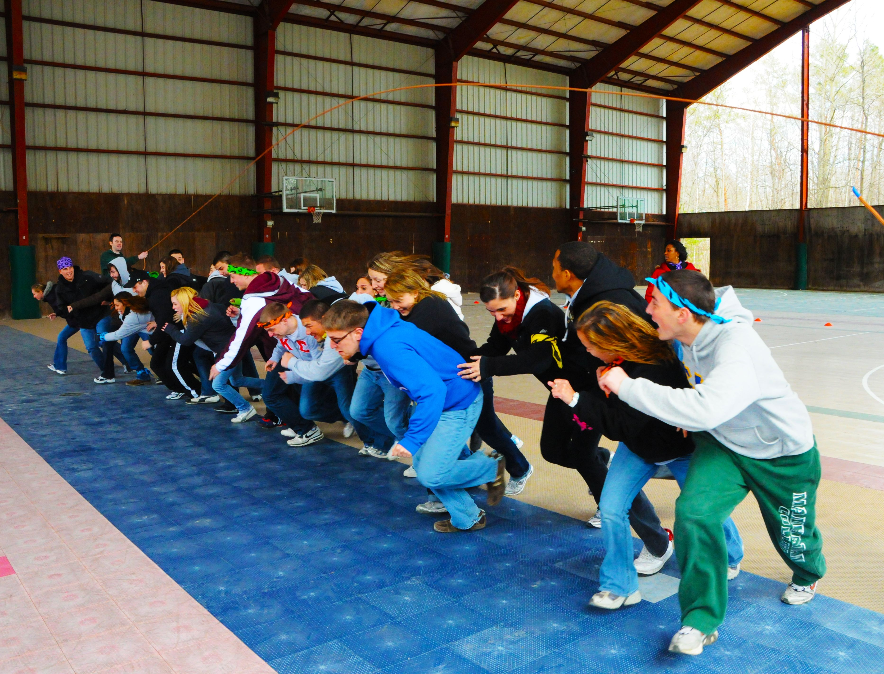 Team Building Activities At Tlr Can Range From Stationary To Very