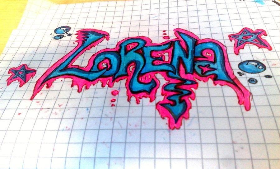 Resultado De Imagen Para Graffiti Con El Nombre De Lorena