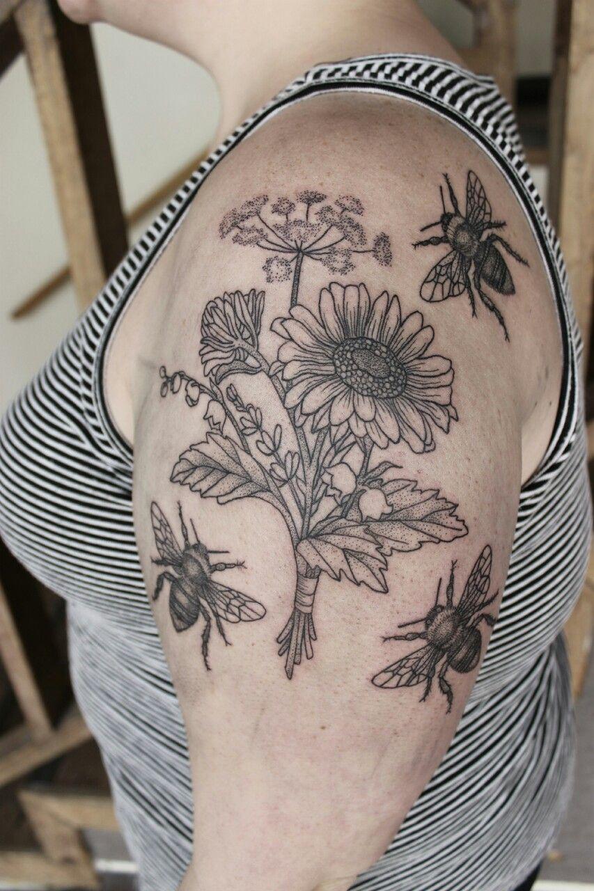 Beauty Markings = Amazing dot and line feminist tattoo