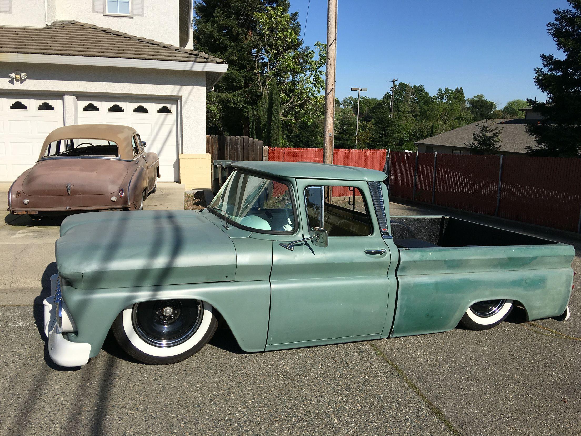 1963 Chevrolet C 10 With Cat Eye Hood Classic Pickup Trucks C10