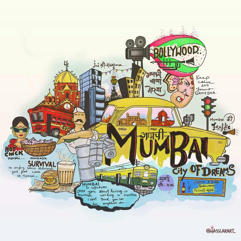 Aamchi mumbai Graffiti doodles