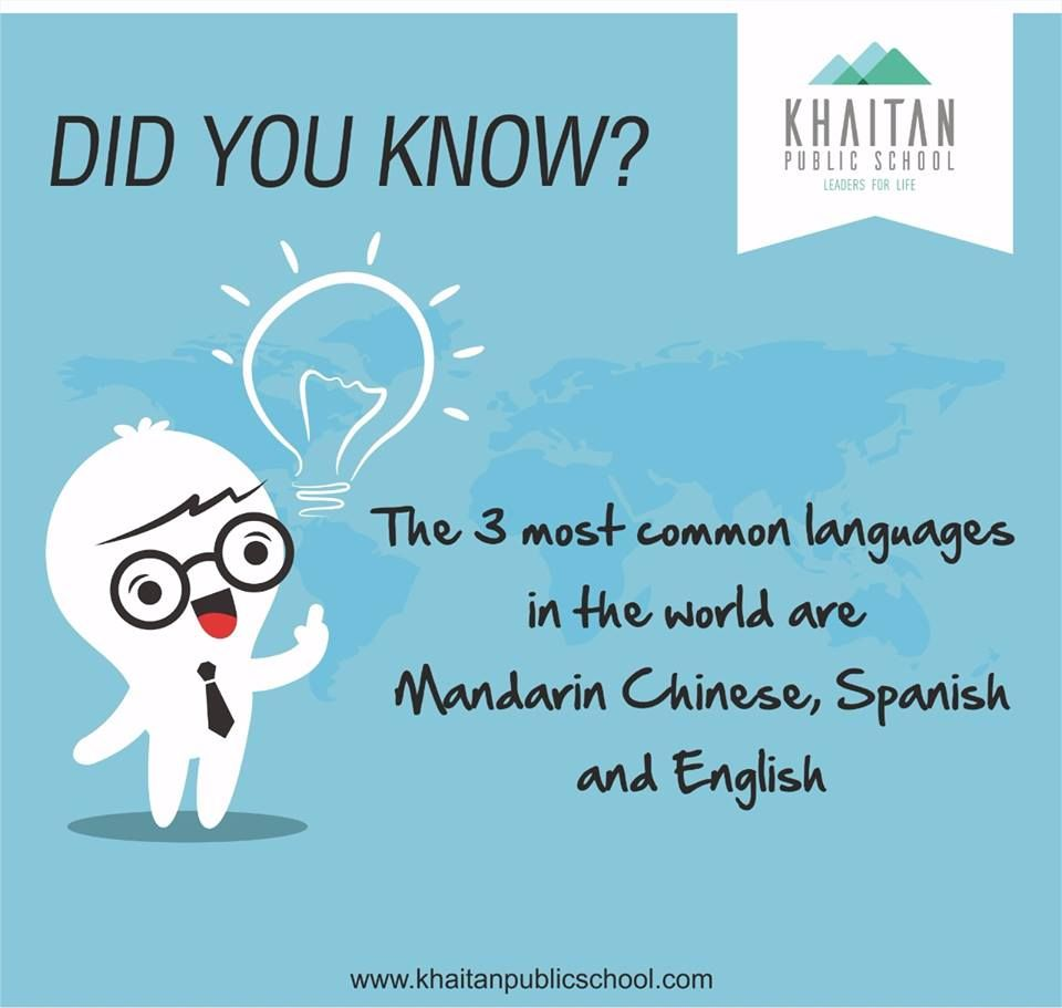 Diy The Most Common Language In The World Are Mandarin Chinese - 3 most common languages in the world